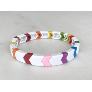 Rocky Road Small Bracelet White/Multi