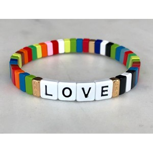 Charity Loves Bracelet Multicolour
