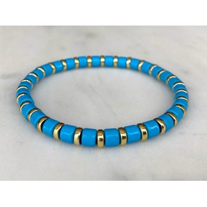 Mini Blue Bracelet Blue/Gold