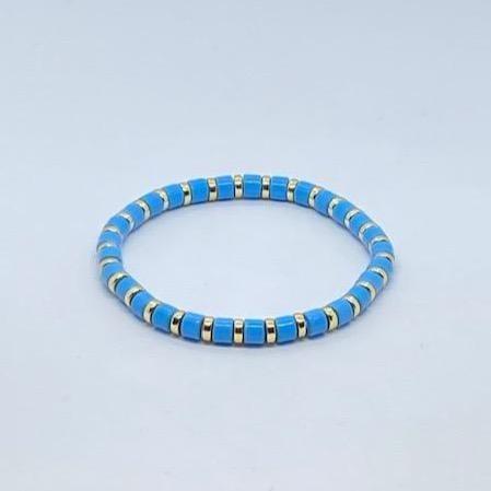 Coco & Jane Loves Mini Blue Bracelet Blue/Gold