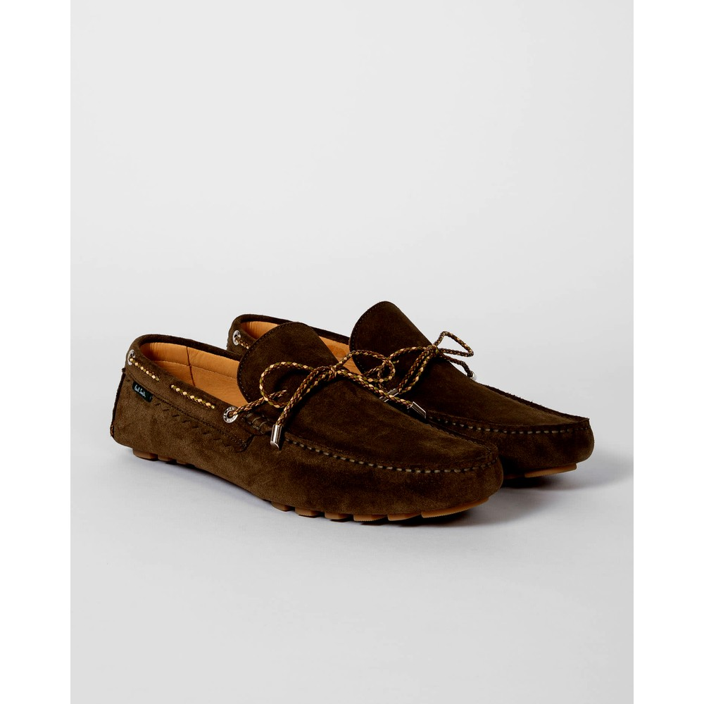 Paul Smith Shoes Springfield Driving Loafer Dark Brown