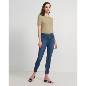 J Brand Alana High Rise Crop Skinny Intrepid
