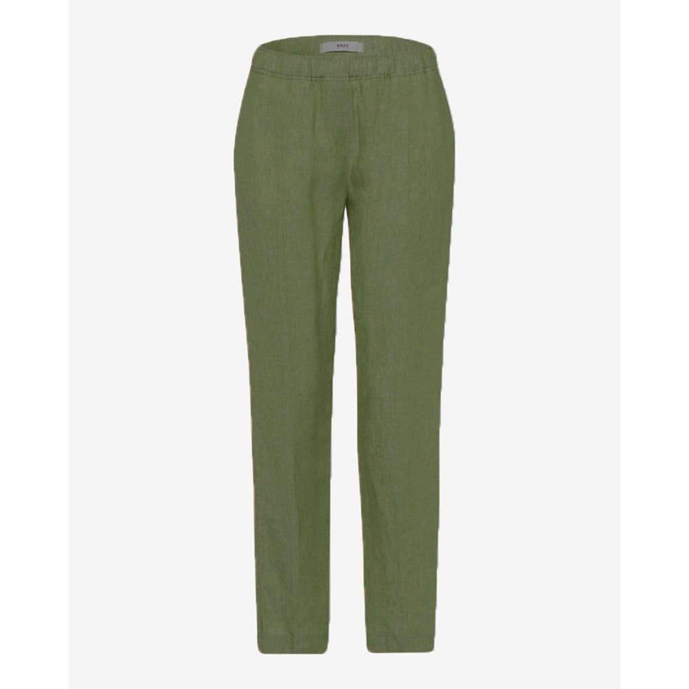 Brax Maron Pull On Chino Army Green