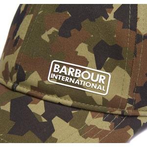 Barbour International Camo Sports Cap Camo Green
