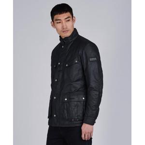 L/Weight Duke Wax Jacket Black