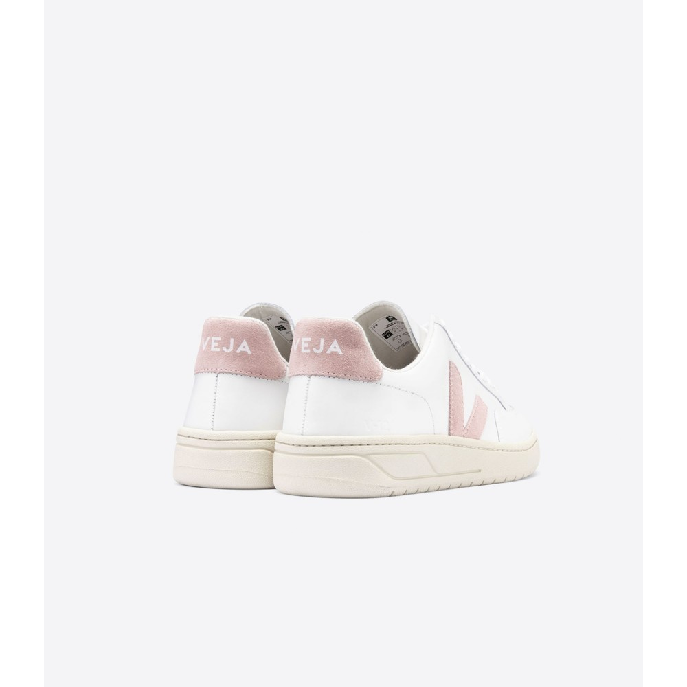 Veja V-12 Leather Extra White/Babe
