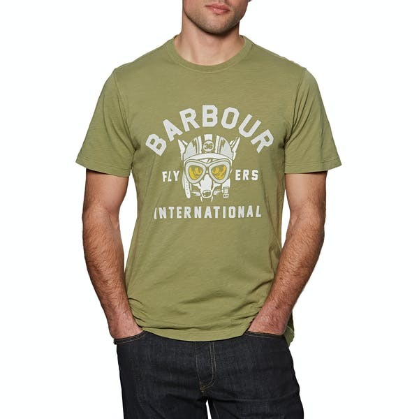 Barbour International Understeer T-shirt Military Green