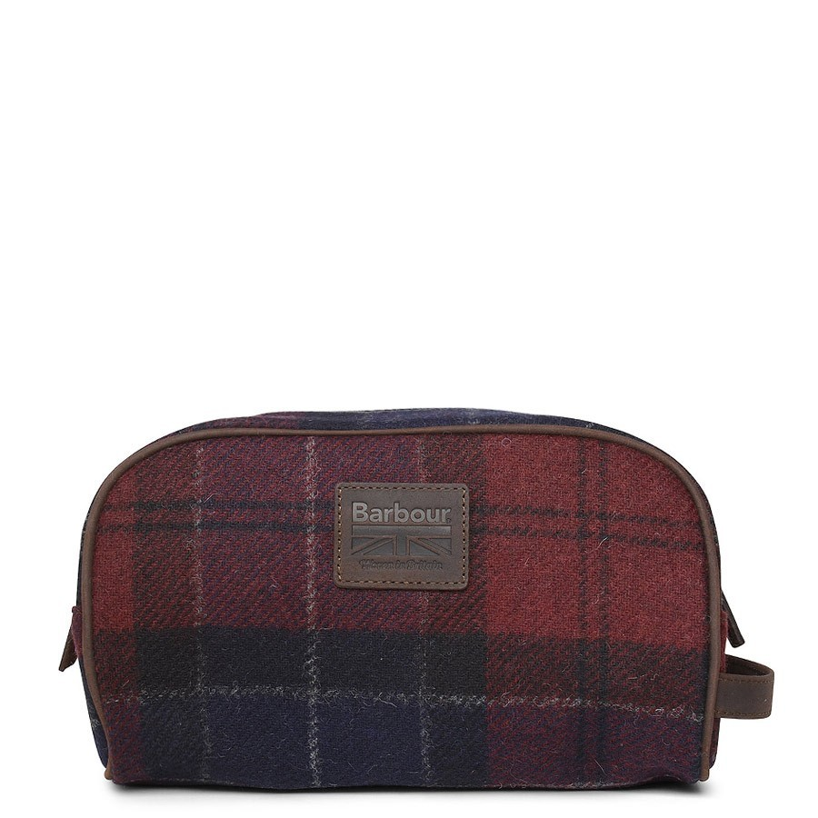 Barbour Shadow Wash Bag Navy