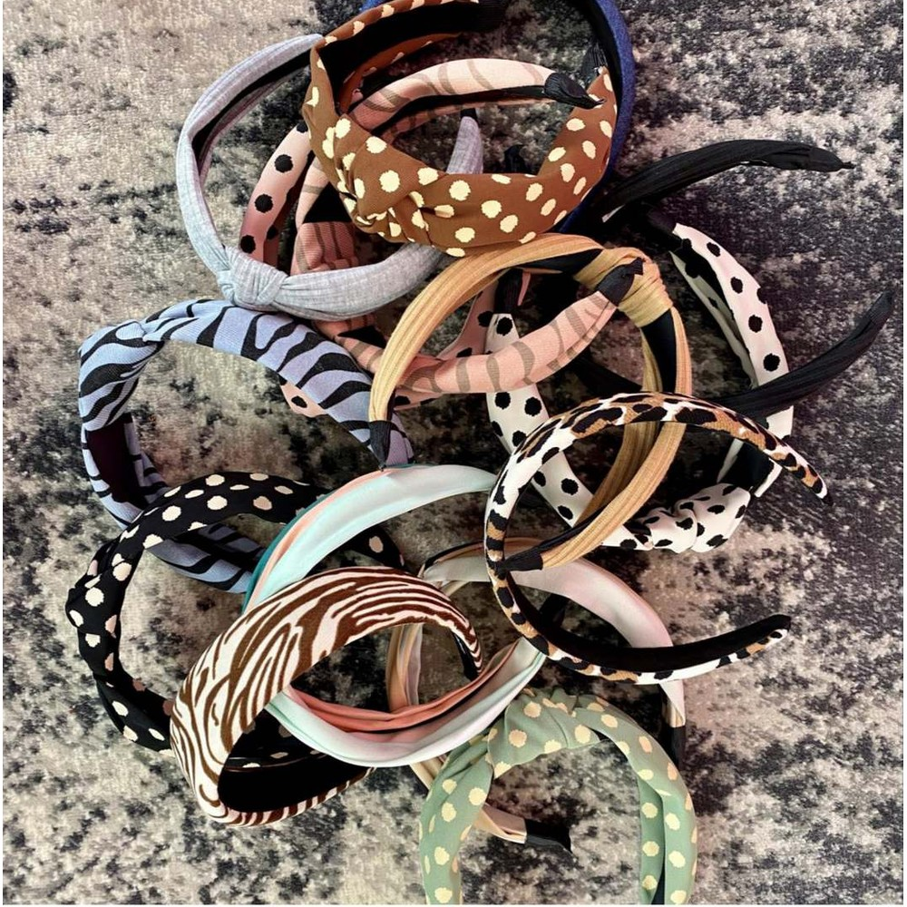Black Colour Desire Zebra Headband Pepe Rose