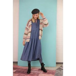 Black Colour Frigg L/S Denim Dress Denim
