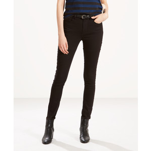 "721 Hi Rise Skinny Jean - 34"" Leg Black Sheep"