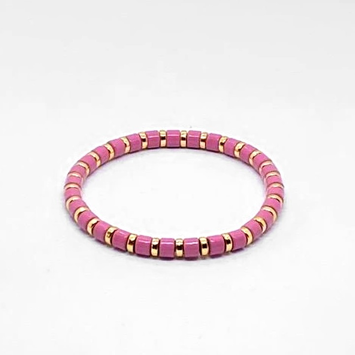 Coco & Jane Loves Mini Pink Bracelet Pink/Gold
