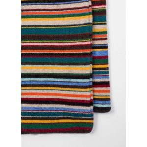 Paul Smith Accessories Multi Knit Scarf Multi