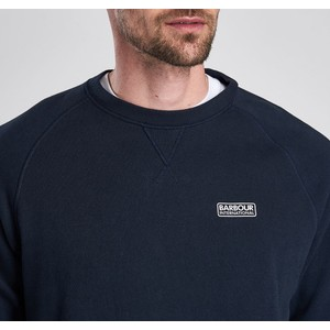 Barbour International Essential Crew Neck Sweater International Navy