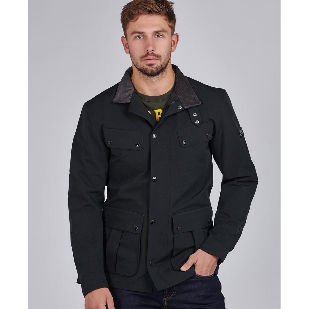 Barbour International Sum Wash Duke Jacket Black