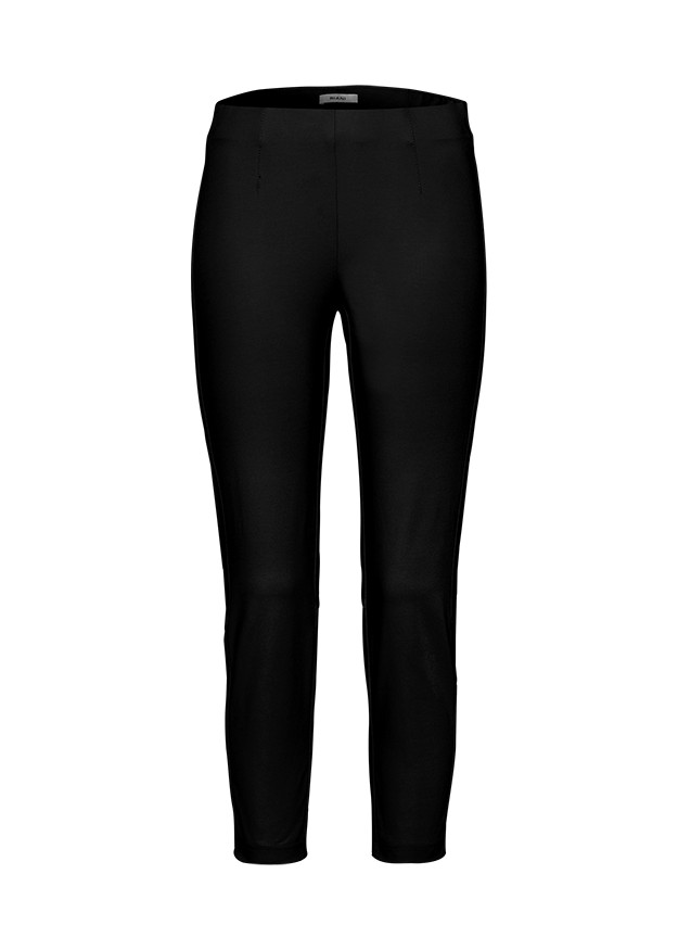Riani Cropped Trousers Stretch Waist Black