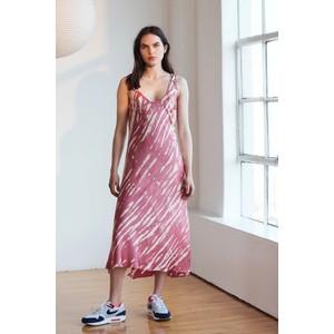 Velvet Billy S/L Maxi Dress Rose