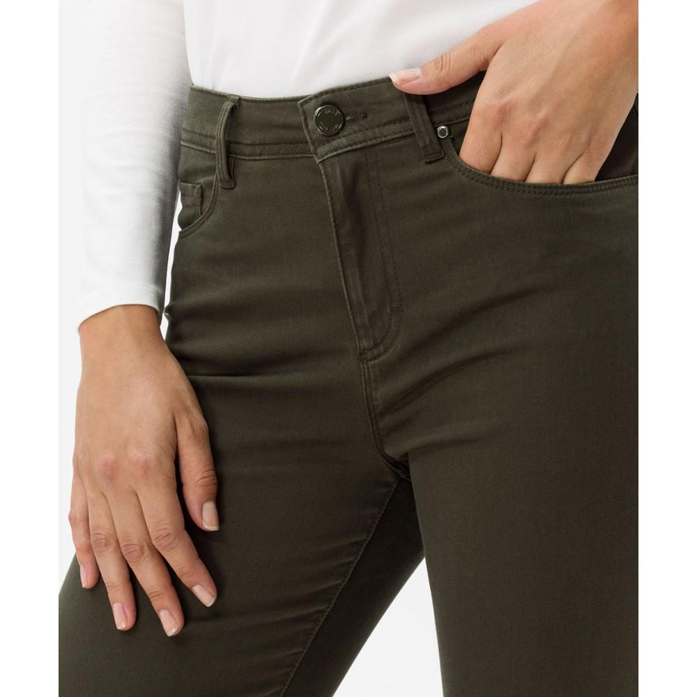 Brax Shakira Skinny Trouser Dark Green