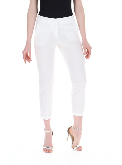 Marella Franz Crop Trouser White