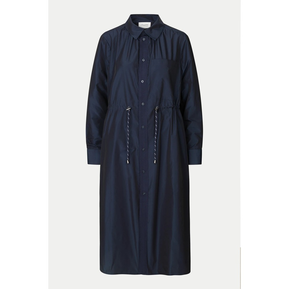 Second Female Calypso Coat Dress Deep Well