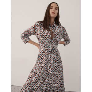 Marella Spazio Retro Print Dress Multi