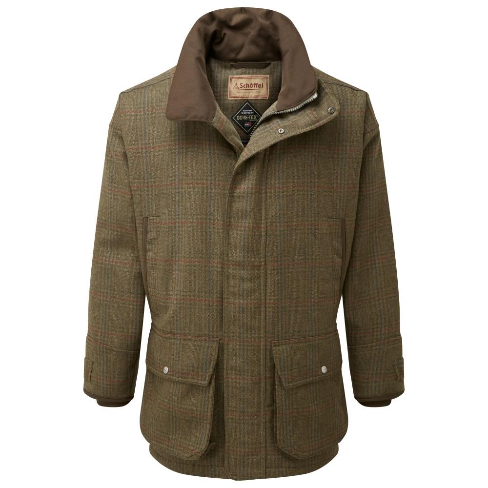 Schoffel Country Ptarmigan Tweed Coat Buckingham Tweed