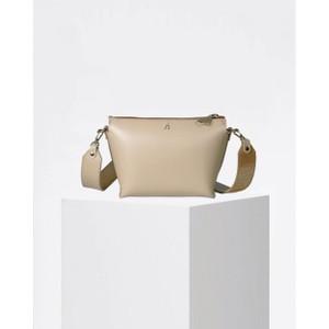 Craie Alchimie Contrast Strap Bag in Latte Honey