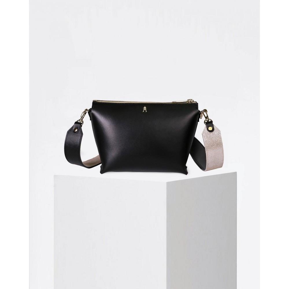 Craie Alchimie Contrast Strap Bag Noir Desert