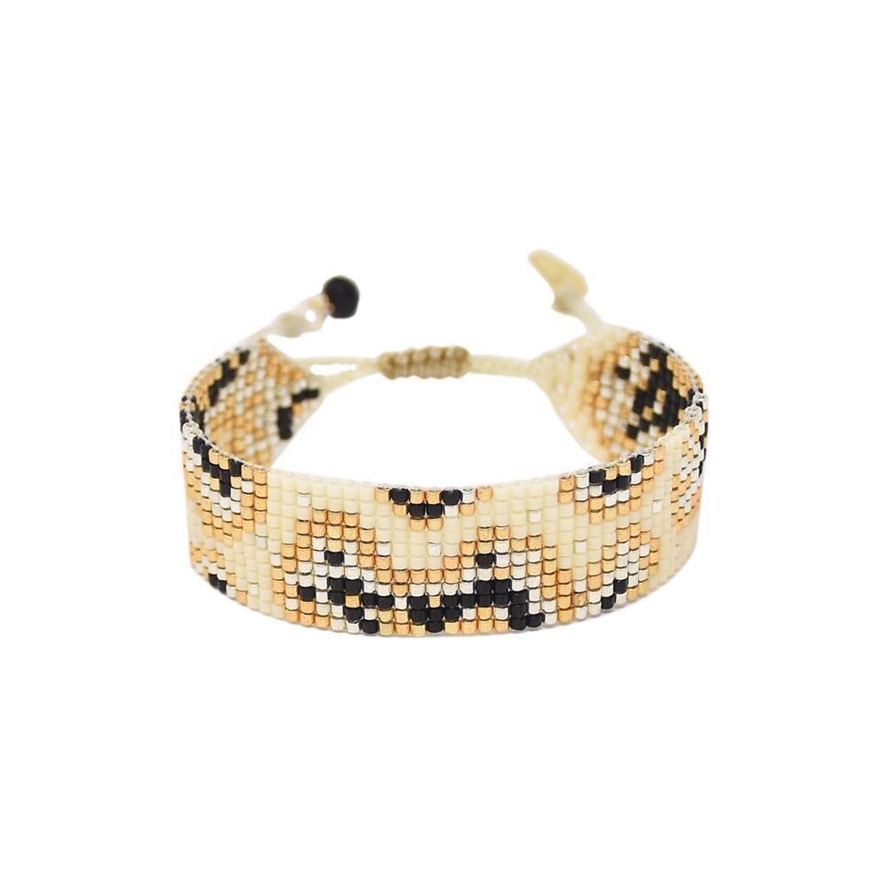 Mishky Fiore Bracelet Cream/Black