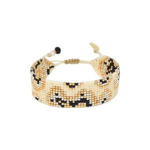 Fiore Bracelet Cream/Black