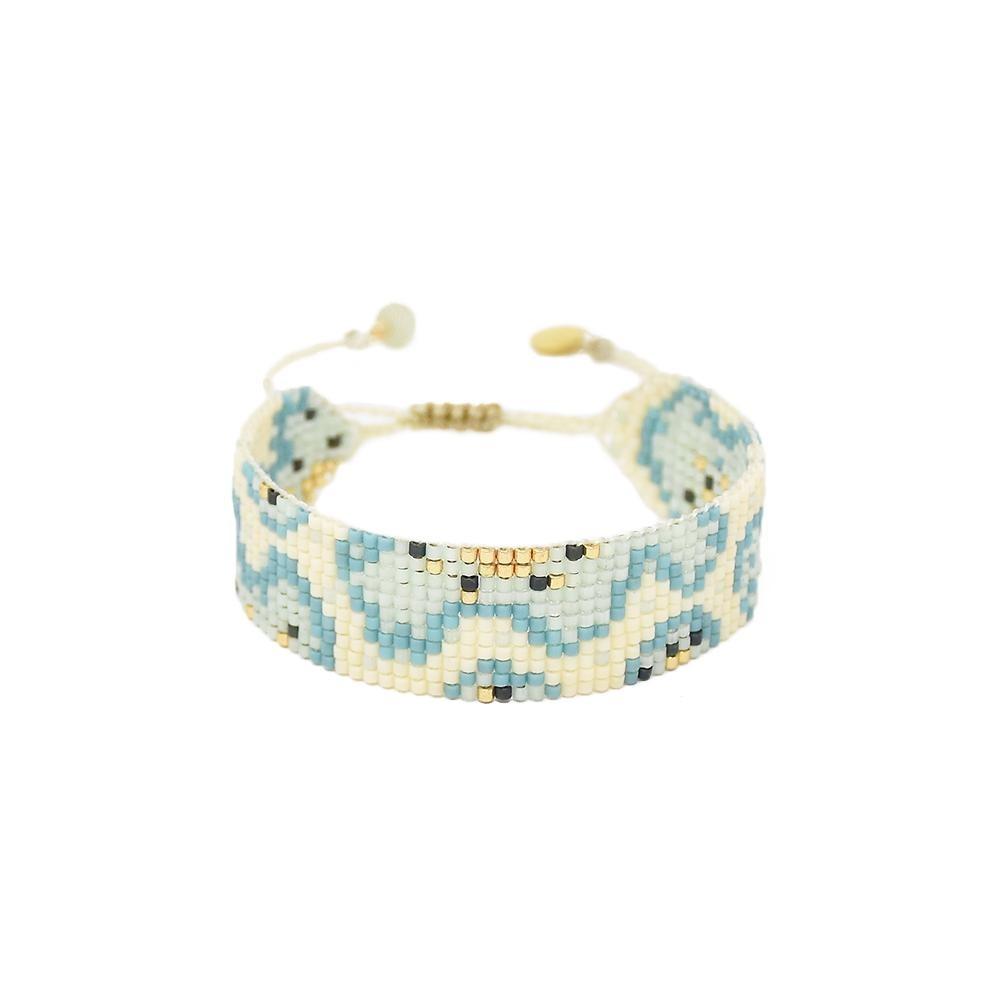 Mishky Fiore Bracelet Cream/Blue