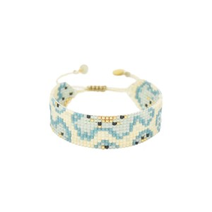 Fiore Bracelet Cream/Blue