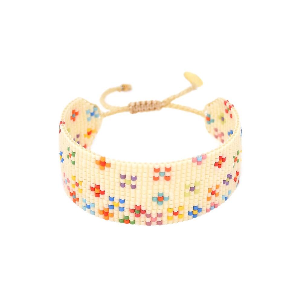 Mishky Rainbow Dotsy Bracelet Cream/Multi