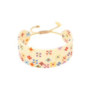 Rainbow Dotsy Bracelet Cream/Multi