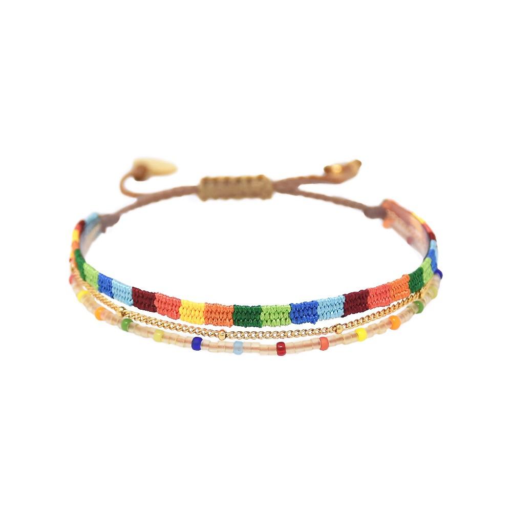 Mishky Afrika Maya Bracelet Bright Multi