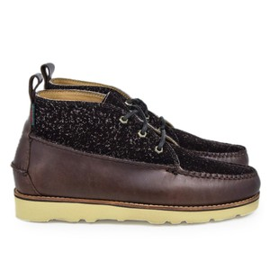 Camp Moc 111 Lthr & Suede Chocolate
