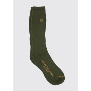 Boot Sock Short Olive