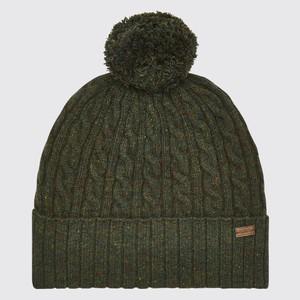 Schull Bobble Hat Olive