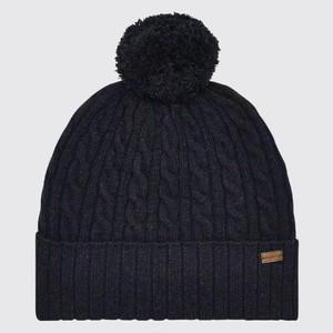 Schull Bobble Hat Navy