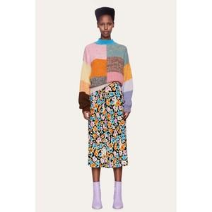 Stine Goya Paloma Floral D/String Skirt Watercolour Flora