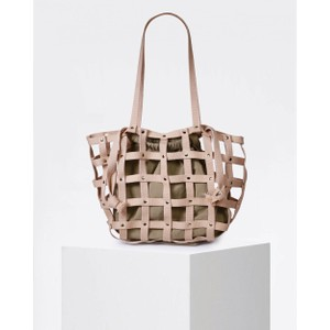 Craie Ocean Fabric Weave Bag Rose