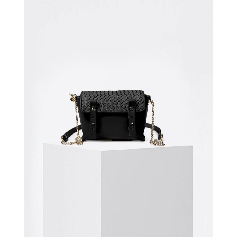 Craie Petite Etude Braid X Body Bag Tresse Black