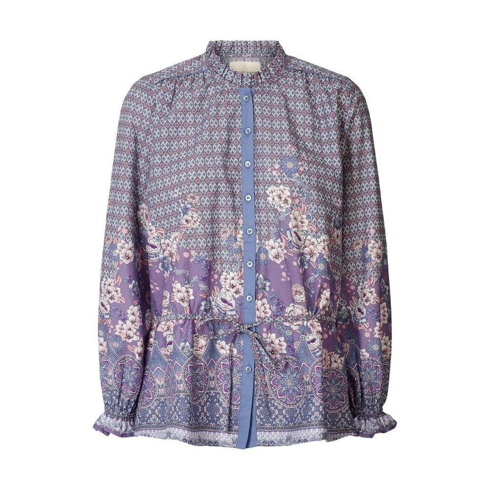Lollys Laundry Sophie Floral D/String Shirt Purple/Pink
