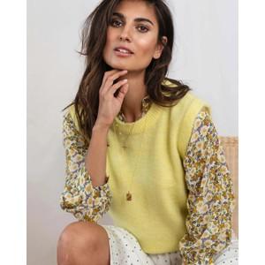 Sam Knitted Vest Light Yellow
