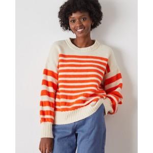Macan Striped Sweater Stripes Orange