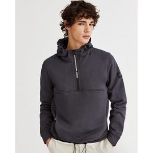 Wels Knit Sweatshirt Asphalt