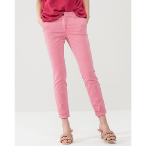 Turn Up Skinny Leg Trousers Primrose