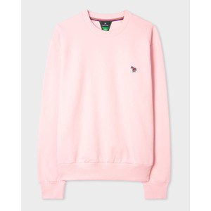 Zebra Logo Sweatshirt Powder Pink