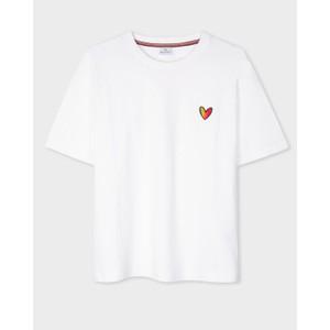 Heart T Shirt White