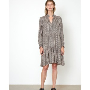 Frank Floral Dress w/ Slip Black/Multi